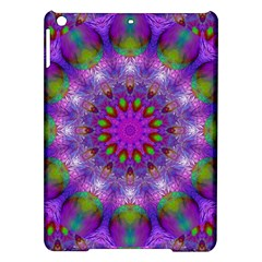 Rainbow At Dusk, Abstract Star Of Light Apple Ipad Air Hardshell Case by DianeClancy