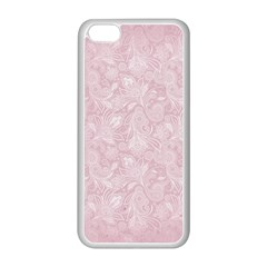 Elegant Vintage Paisley  Apple Iphone 5c Seamless Case (white) by StuffOrSomething