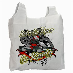 Lets Race Go Karts Recycle Bag (one Side)