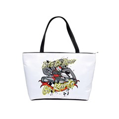 Lets Race Go Karts Classic Shoulder Handbag by MegaSportsFan