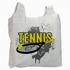 Tennis Recycle Bag (one Side) by MegaSportsFan