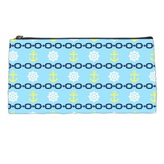 Anchors & Boat Wheels Pencil Case by StuffOrSomething