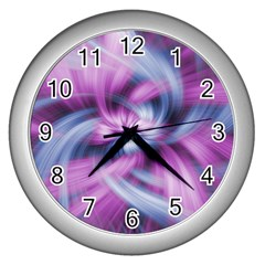 Mixed Pain Signals Wall Clock (silver)