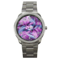Mixed Pain Signals Sport Metal Watch by FunWithFibro