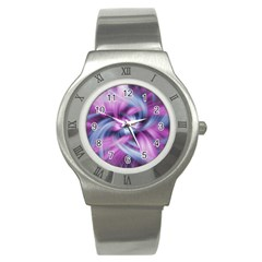 Mixed Pain Signals Stainless Steel Watch (slim) by FunWithFibro