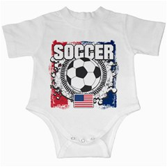 Soccer United States Of America Infant Creeper by MegaSportsFan