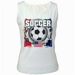 Soccer United States Of America Women s Tank Top by MegaSportsFan