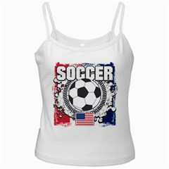 Soccer United States Of America Ladies Camisole by MegaSportsFan
