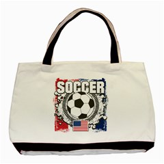 Soccer United States Of America Classic Tote Bag (two Sides) by MegaSportsFan