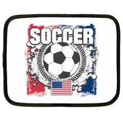 Soccer United States Of America Netbook Case (xl)