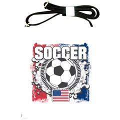 Soccer United States Of America Shoulder Sling Bag by MegaSportsFan