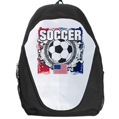 Soccer United States Of America Backpack Bag by MegaSportsFan