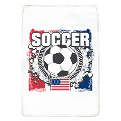 Soccer United States Of America Removable Flap Cover (large) by MegaSportsFan