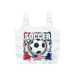 Soccer United States Of America Full Print Recycle Bag (s)