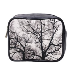 Tree Mini Travel Toiletry Bag (two Sides)