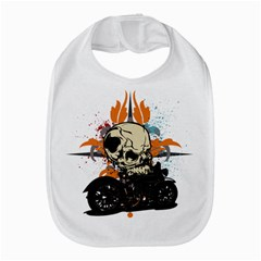 Skull Classic Motorcycle Bib by creationsbytom