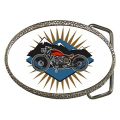 Classic Vintage Motorcycle Belt Buckle