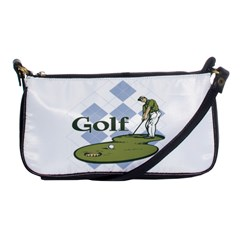 Classic Golf Shoulder Clutch Bag