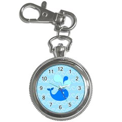 Playing In The Waves Key Chain Watch