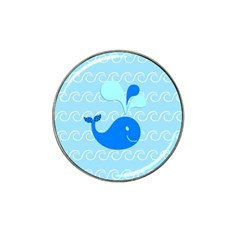 Playing In The Waves Golf Ball Marker (for Hat Clip) by StuffOrSomething