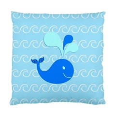 Playing In The Waves Cushion Case (two Sided)  by StuffOrSomething