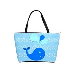 Playing In The Waves Large Shoulder Bag by StuffOrSomething