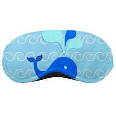 Playing In The Waves Sleeping Mask by StuffOrSomething