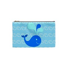 Playing In The Waves Cosmetic Bag (small) by StuffOrSomething