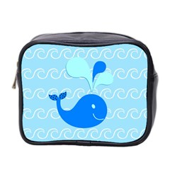 Playing In The Waves Mini Travel Toiletry Bag (two Sides) by StuffOrSomething