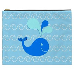 Playing In The Waves Cosmetic Bag (xxxl) by StuffOrSomething