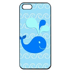 Playing In The Waves Apple Iphone 5 Seamless Case (black) by StuffOrSomething