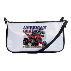 American Quad Shoulder Clutch Bag