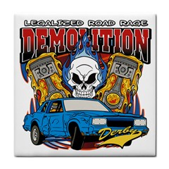 Demolition Derby Face Towel
