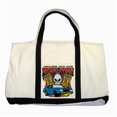 Demolition Derby Two Tone Tote Bag by MegaSportsFan