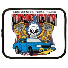 Demolition Derby Netbook Case (xxl) by MegaSportsFan