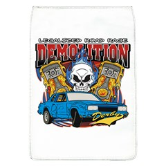 Demolition Derby Removable Flap Cover (large) by MegaSportsFan