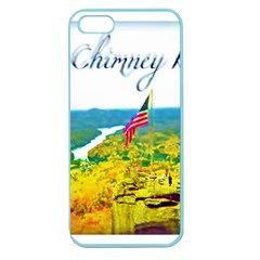 Chimney Rock Overlook Air Brushed Apple Seamless Iphone 5 Case (color) by Majesticmountain