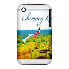 Chimney Rock Overlook Air Brushed Apple Iphone 3g/3gs Hardshell Case (pc+silicone) by Majesticmountain