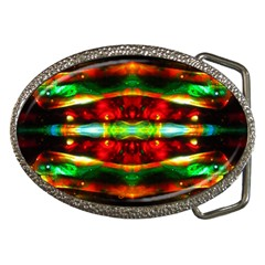 Love Of Is Behind Beholding Belt Buckle (oval) by saprillika