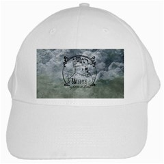 Once Upon A Time White Baseball Cap by StuffOrSomething