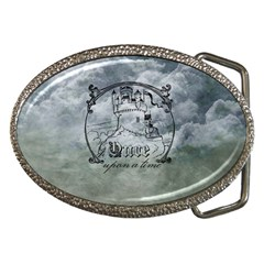 Once Upon A Time Belt Buckle (oval) by StuffOrSomething