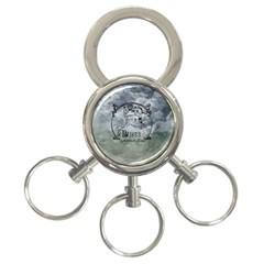 Once Upon A Time 3 Ring Key Chain by StuffOrSomething