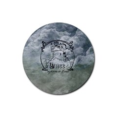Once Upon A Time Drink Coaster (round) by StuffOrSomething