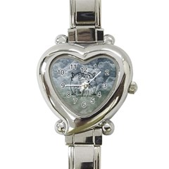 Once Upon A Time Heart Italian Charm Watch  by StuffOrSomething