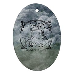 Once Upon A Time Oval Ornament (two Sides) by StuffOrSomething