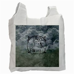 Once Upon A Time White Reusable Bag (two Sides) by StuffOrSomething