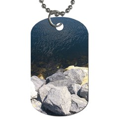 Atlantic Ocean Dog Tag (two Sided)  by DmitrysTravels