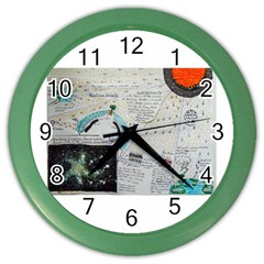 Neutrino Gravity, Wall Clock (color) by creationtruth