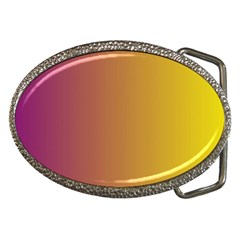 Tainted  Belt Buckle (oval) by Colorfulart23