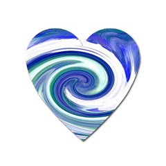 Abstract Waves Magnet (heart)